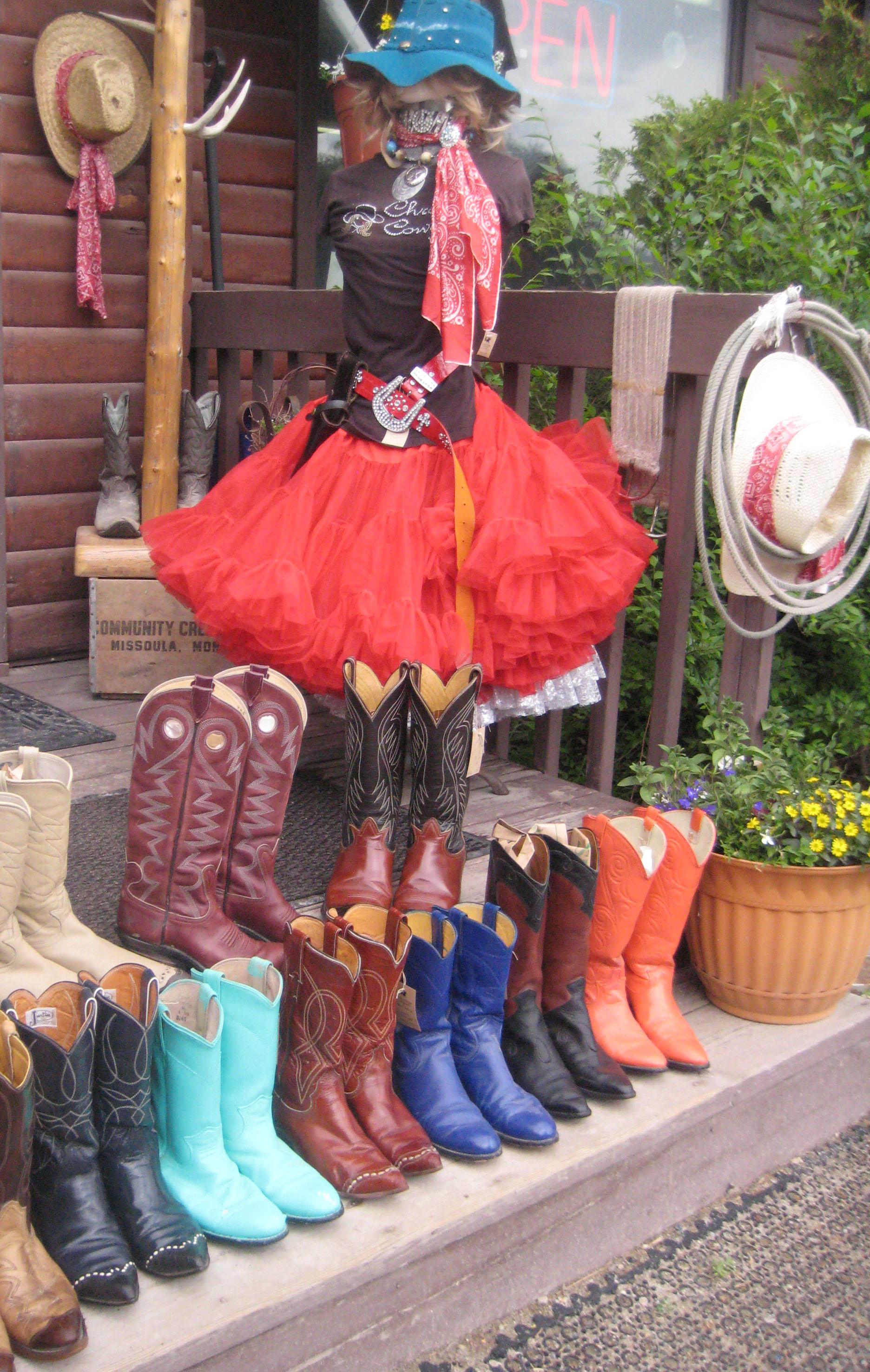 Retro Rita Boots, Crazy Horse Consignment,