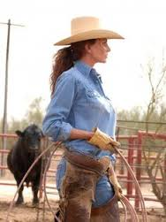 working cowgirl