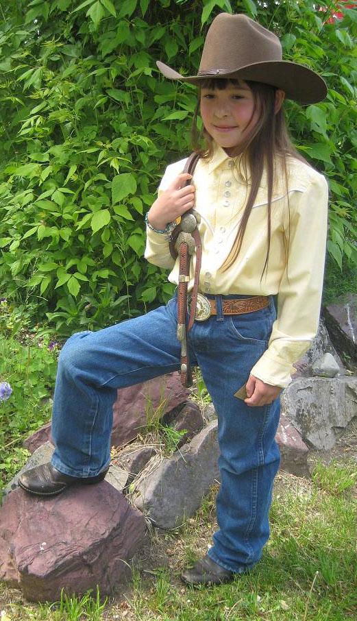 Western wear for youth, children's western wear