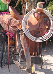 Dale Fredricks Wade Western Saddle